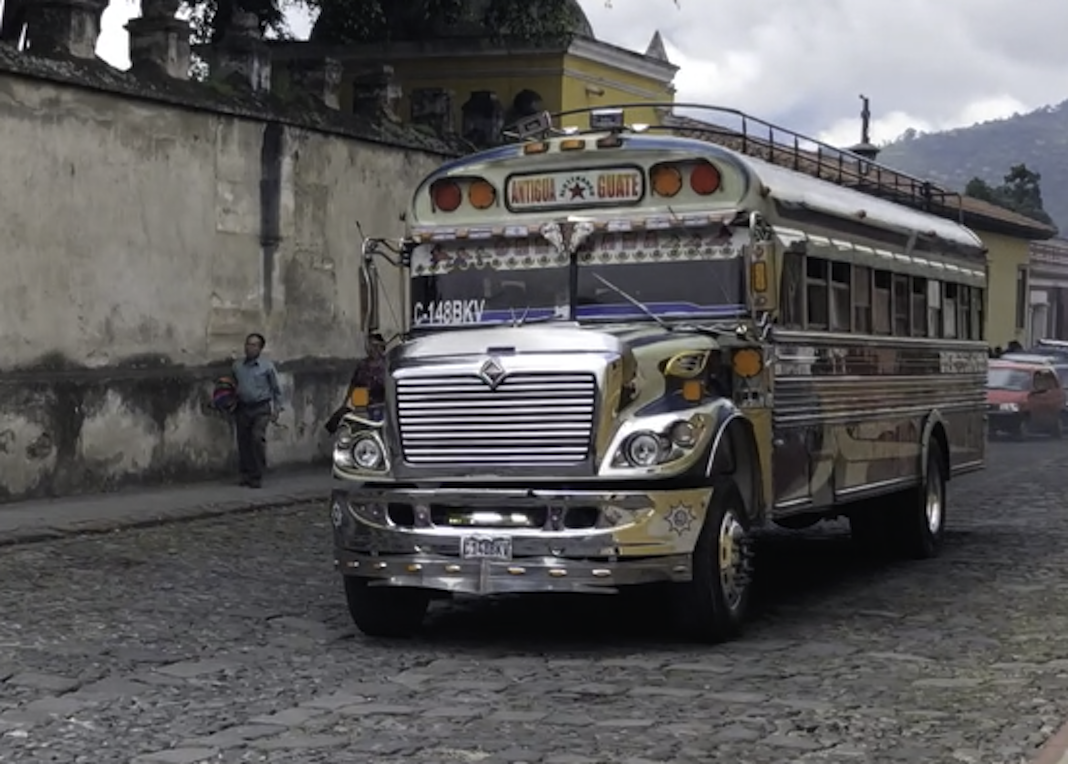 Bellos los camiones de Antigua ¿verdad?
