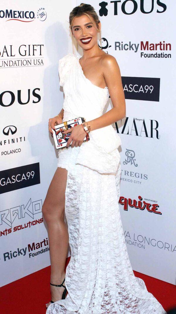 Michelle Salas siempre siempre luce glamurosa en todas sus fotografías