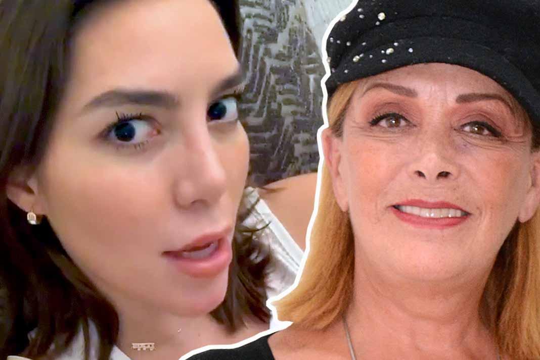 Frida Sofía le echó en cara a su tía Sylvia Pasquel haberle robado el novio a su abuela hace muchos años
