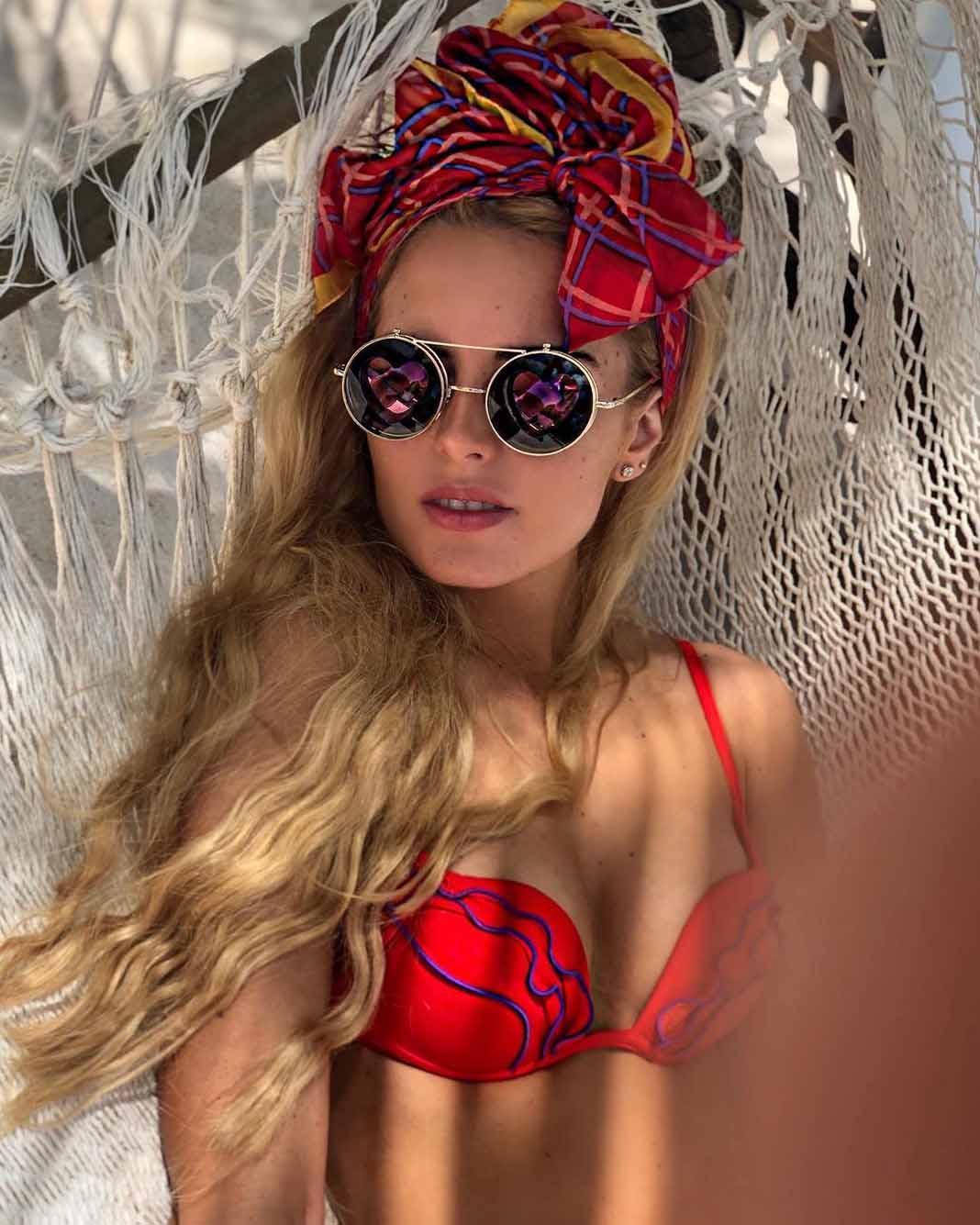 La supuesta novia de Enrique Peña Nieto posó muy sexy