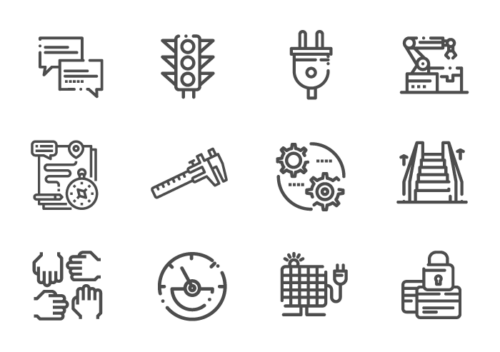 ten forward finance icons for deck