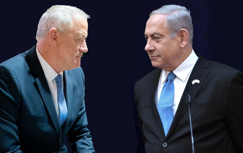 """إسرائيل تقترب من الأزمة.. مُهلة حزب """"أزرق أبيض"""" لليكود تنتهي اليوم ونتنياهو في ورطة وترقب لتنفيذ غانتس تهديداته"""