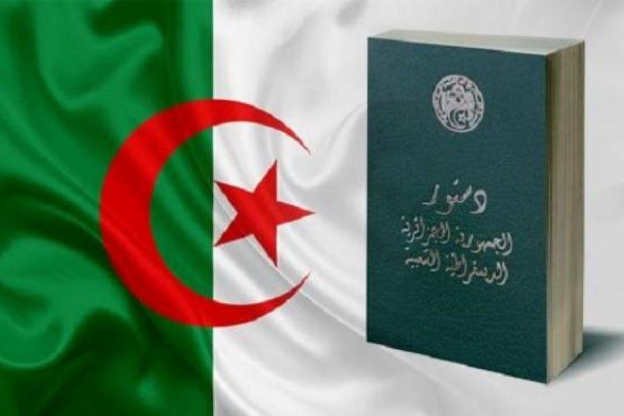 """جراد  يصفه ب""""يوم المستقبل"""" .. دستور الجزائر الجديد يخوض تجربة الاستفتاء الشعبي"""