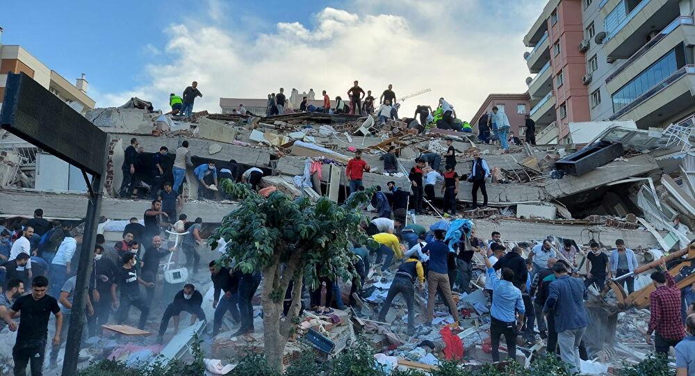 كارثة زلزال إزمير.. ارتفاع عدد القتلى إلى 114 و1035 إصابة وعمليات البحث والإنقاذ لا تزال جارية بعد 6 أيام من الفاجعة