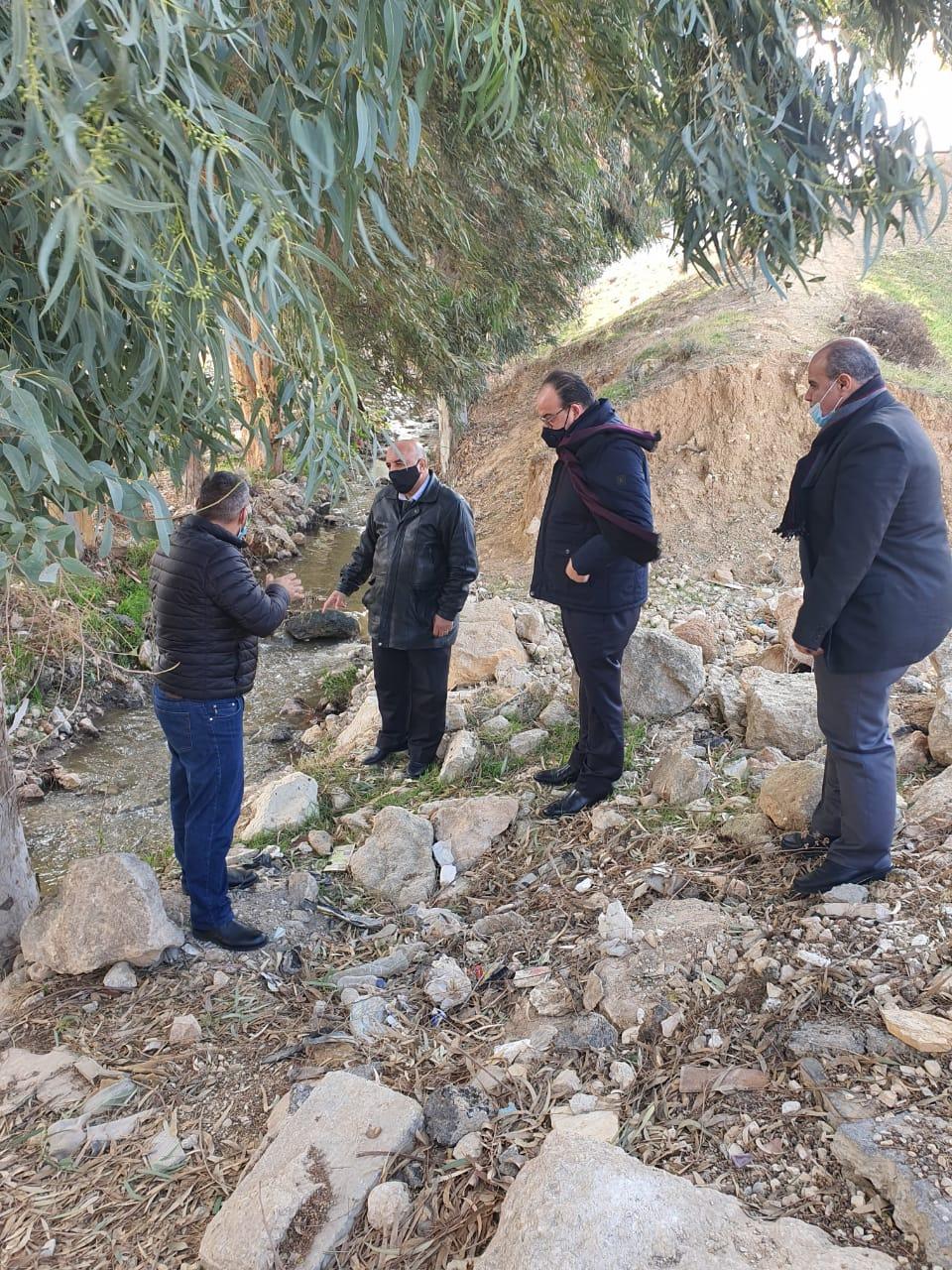 امين عام سلطة المياه: استكمال اعمال نقل محطة ابو نصير بحلول نهاية شباط القادم