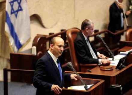 """قبل تصويت الكنيست لحكومته.. بينيت يؤكد ان الائتلاف الجديد سيمثل """"إسرائيل برمتها"""" و""""لن يسمح لإيران بامتلاك سلاح نووي"""" يتعهد بمواصلة الاستيطان ويهدد """"حماس"""""""