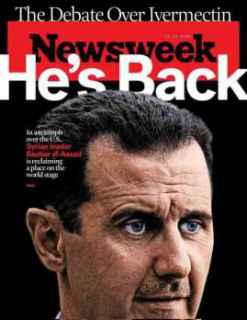 """نيوزويك الأمريكية: عن الأسد: """"لقد عاد"""""""