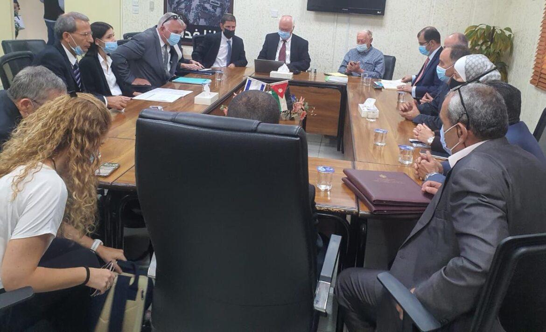 لجان فنية اردنية اسرائيلية توقع اتفاق شراء كميات اضافية خارج اطار اتفاقية السلام