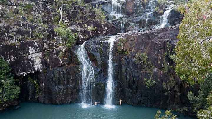 waterfall and beach activity deals