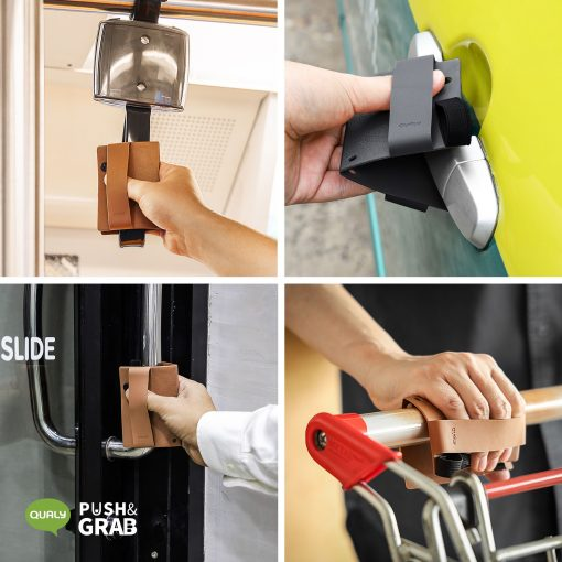 Door Handle Holder – Qualy Push and Grab