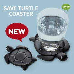 save sea turtle coaster