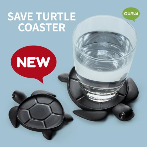 save sea turtle coaster