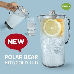 Polar bear hot and cold jug