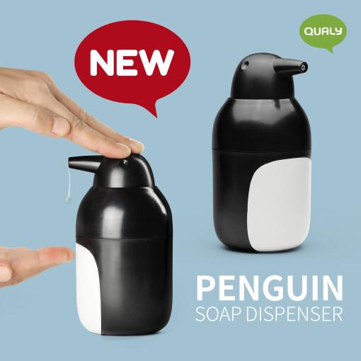 Soap Dispenser Penguin Qualy
