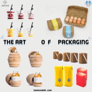 أمثلة التغليف المبدع