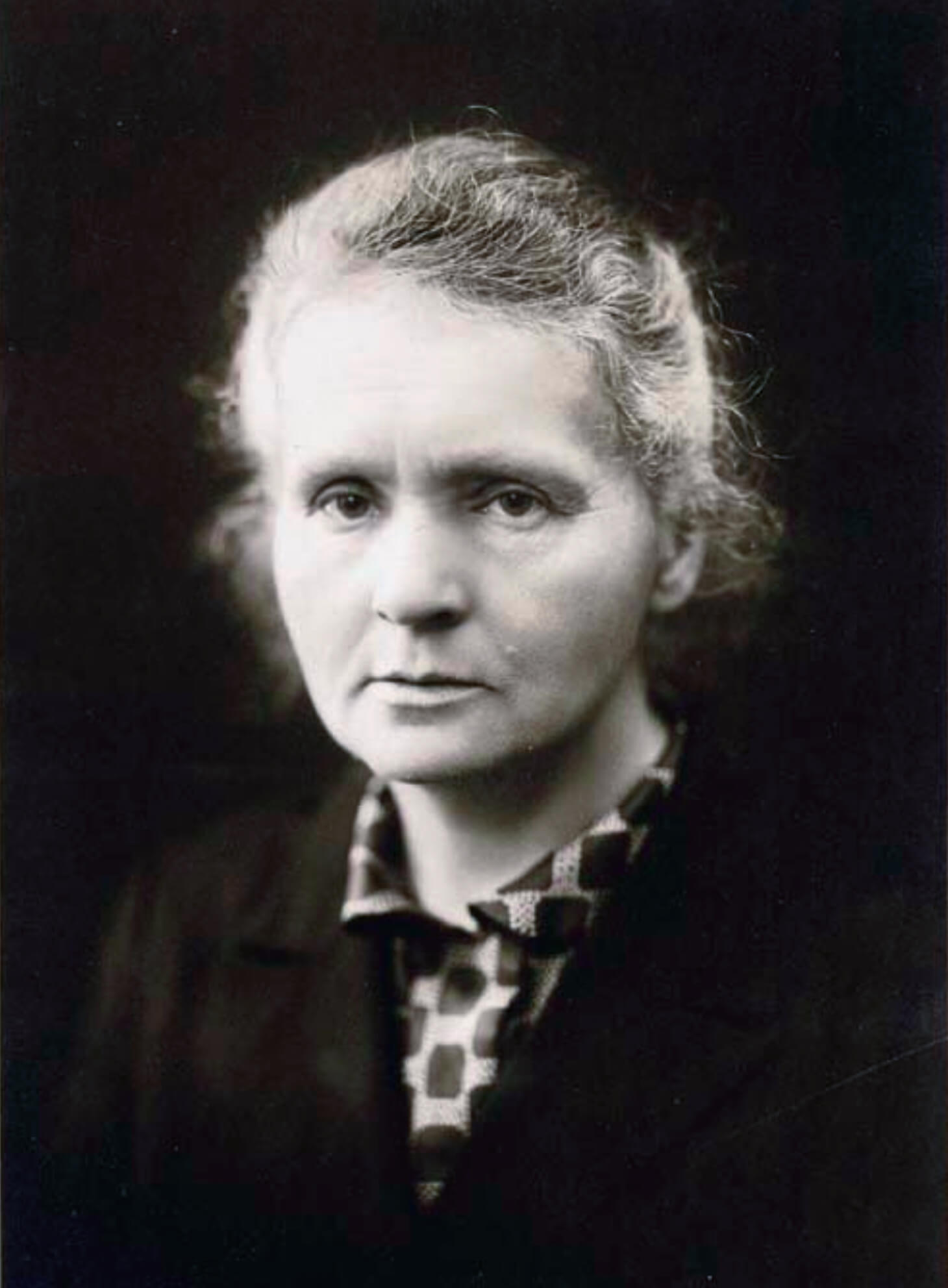 Portrait of Marie Curie