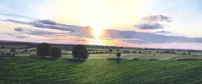 'Morning Light, East Yorkshire'