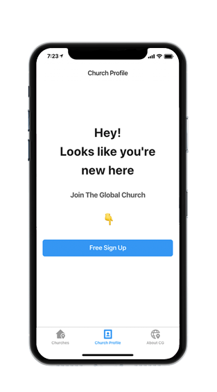 Add or Claim<br>  Your Church Today... <br> It's Free