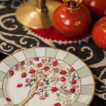 Pomegranates & Roses - Dinner Plate