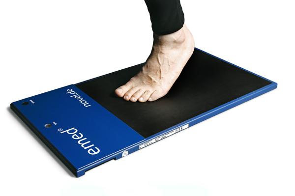 emed - Pressure distribution under the foot - Pedography | novel.de