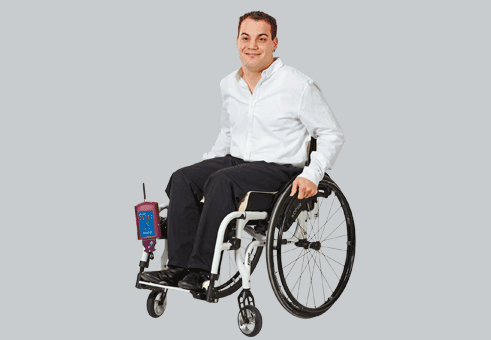 The pliance-HS wheelchair systems | novel sensors - novel.de