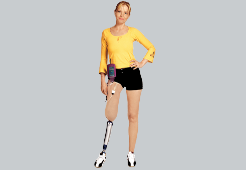 Pliance-RLS prothesis: Pressure between human and prosthesis | novel.de
