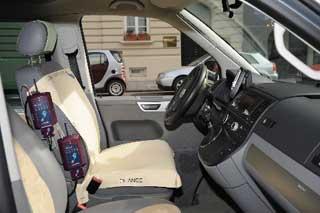 seat pressure distribution measurement in automotive | novel.de