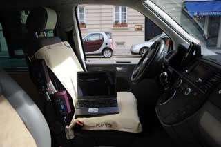 seat pressure distribution measurement in automotive - pliance | novel.de