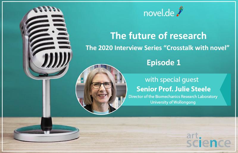 the 2020 novel interview series - Episode 01 -Julie steele   novel.de