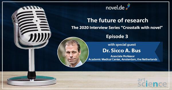 the 2020 novel interview series - Episode 03 - Sicco A. Bus | novel.de