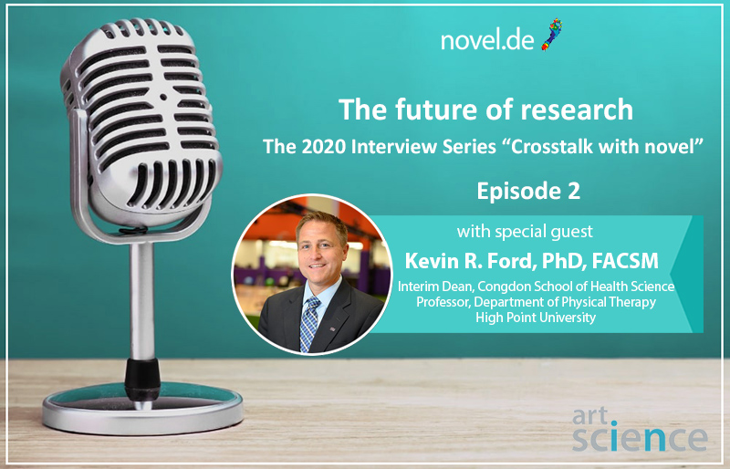 the 2020 novel interview series - Episode 02 - Kevin R. Ford | novel.de