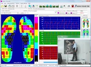 pedar recorder software - novel force measurement systems