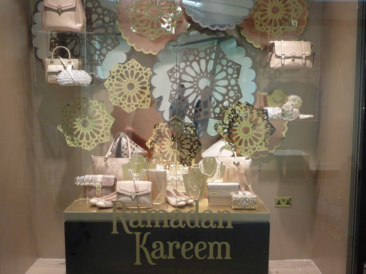 Promotional Window Display for Accessorize, Dubai