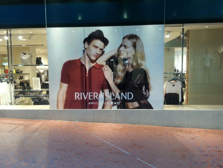 Street Level Window Graphics