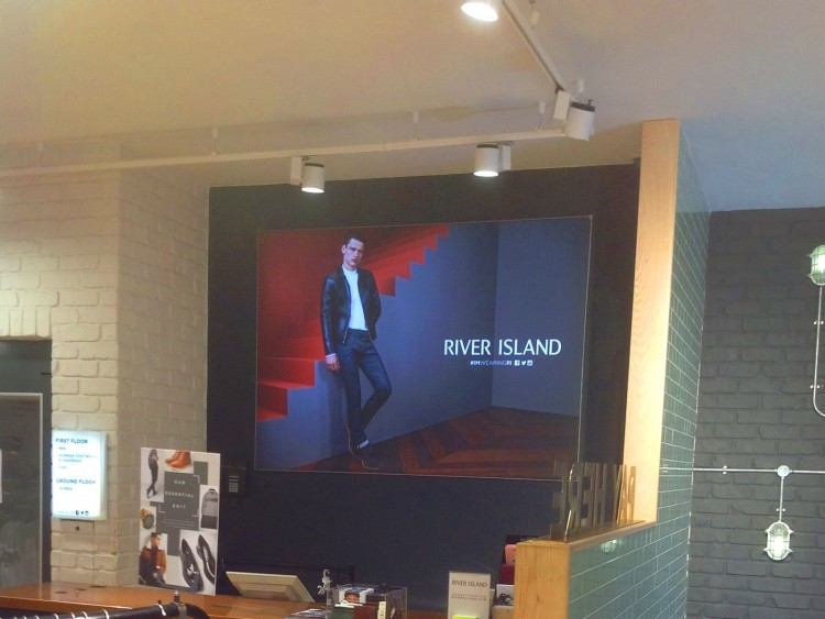 Our large TFS lightbox graphics are exceptionally effective in retail environments