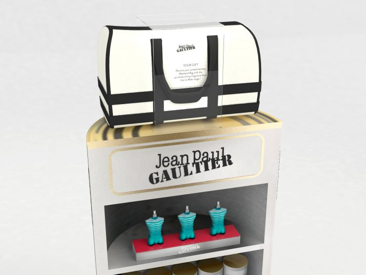 Floor Stocker and Display Unit (Close-Up) - Jean Paul Gaultier 'Le Male'