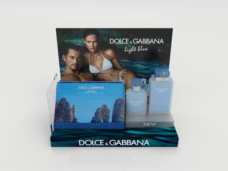 Counter Tester Unit - Dolce & Gabbana 'Light Blue'