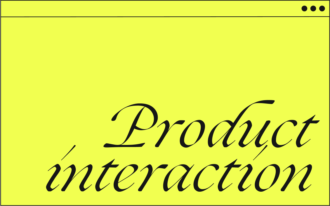 product-interaction