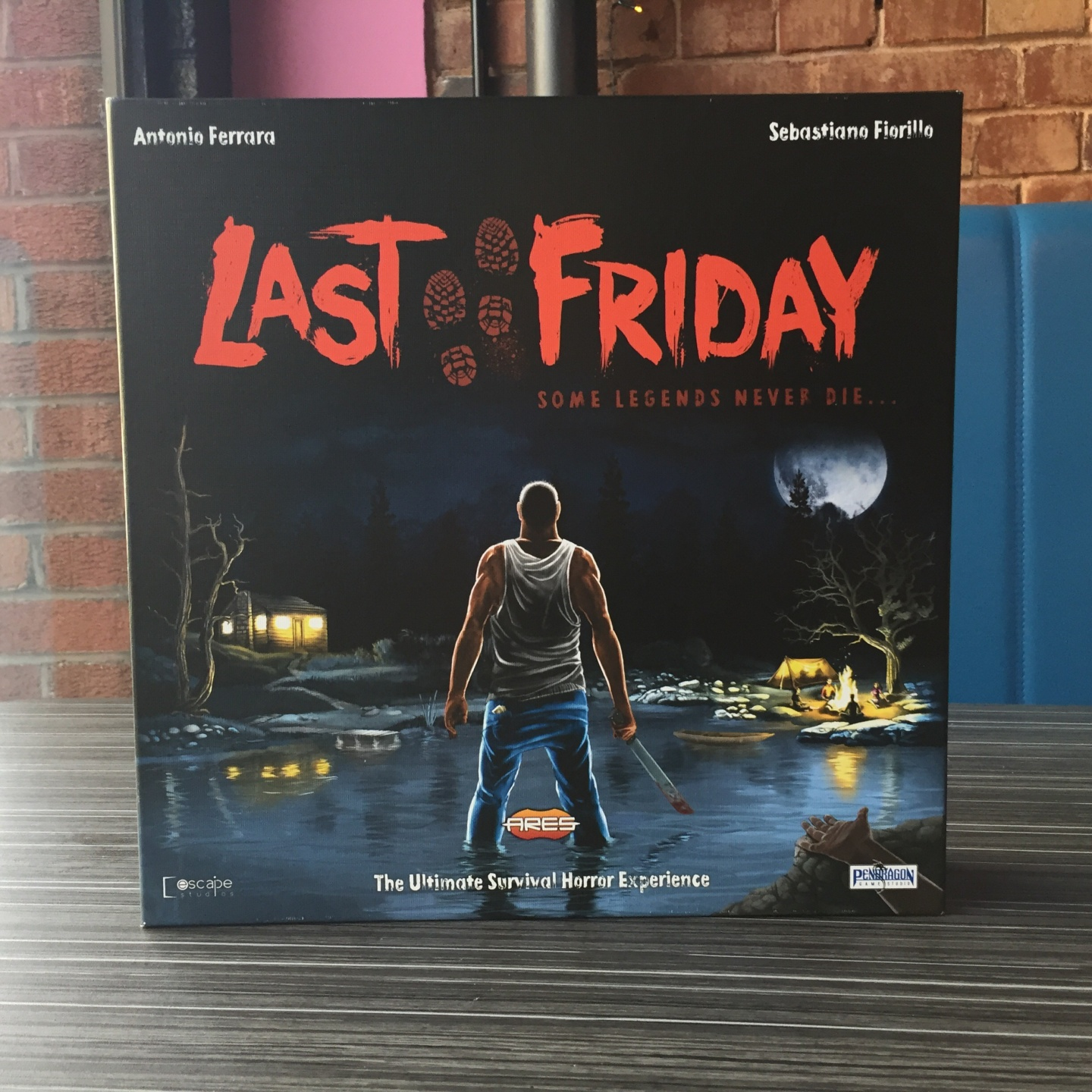 Last Friday: A Board Game Review