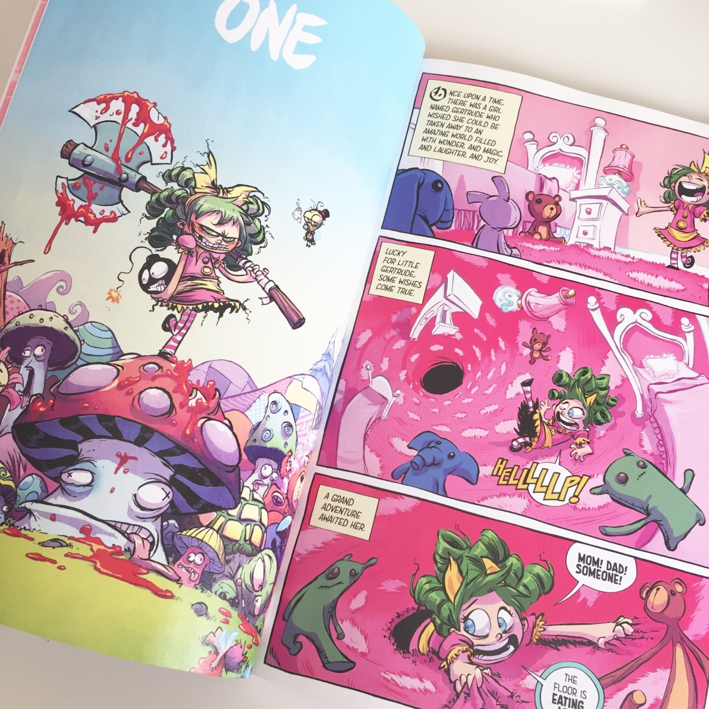 Book Review: I Hate Fairyland, Vol. 1