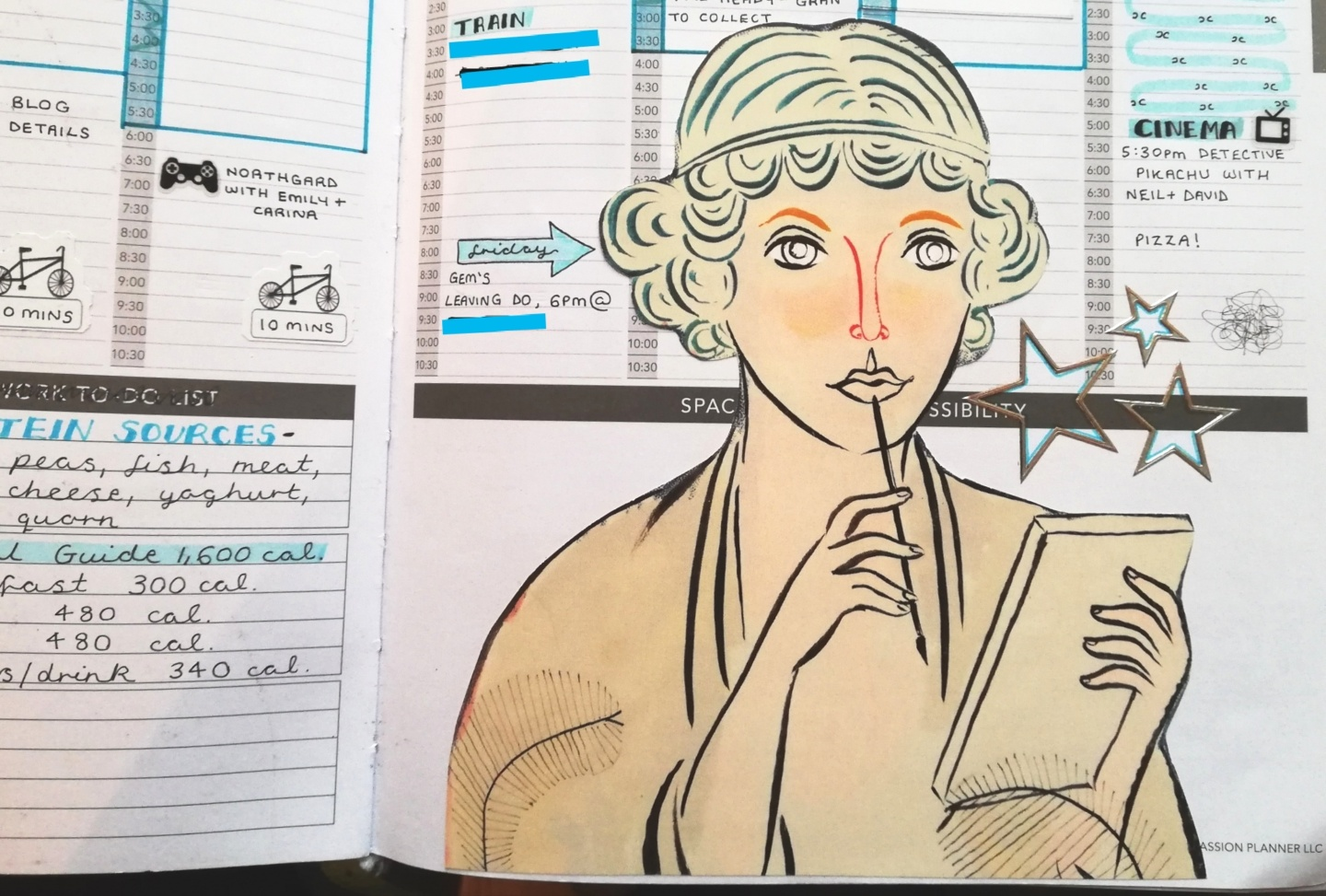 The Year of the Passion Planner