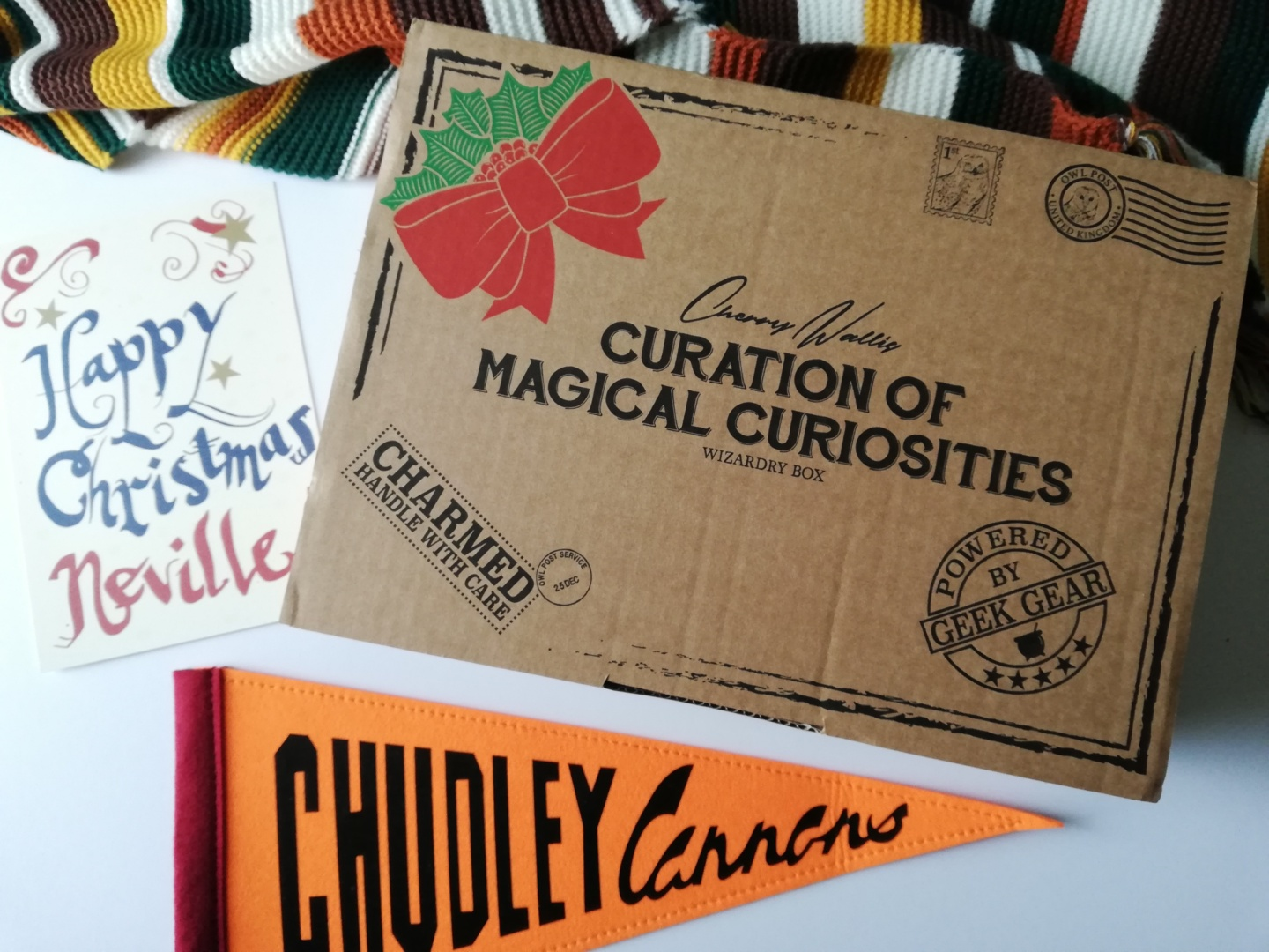 The Curation of Magical Curiosities Box: Christmas Edition