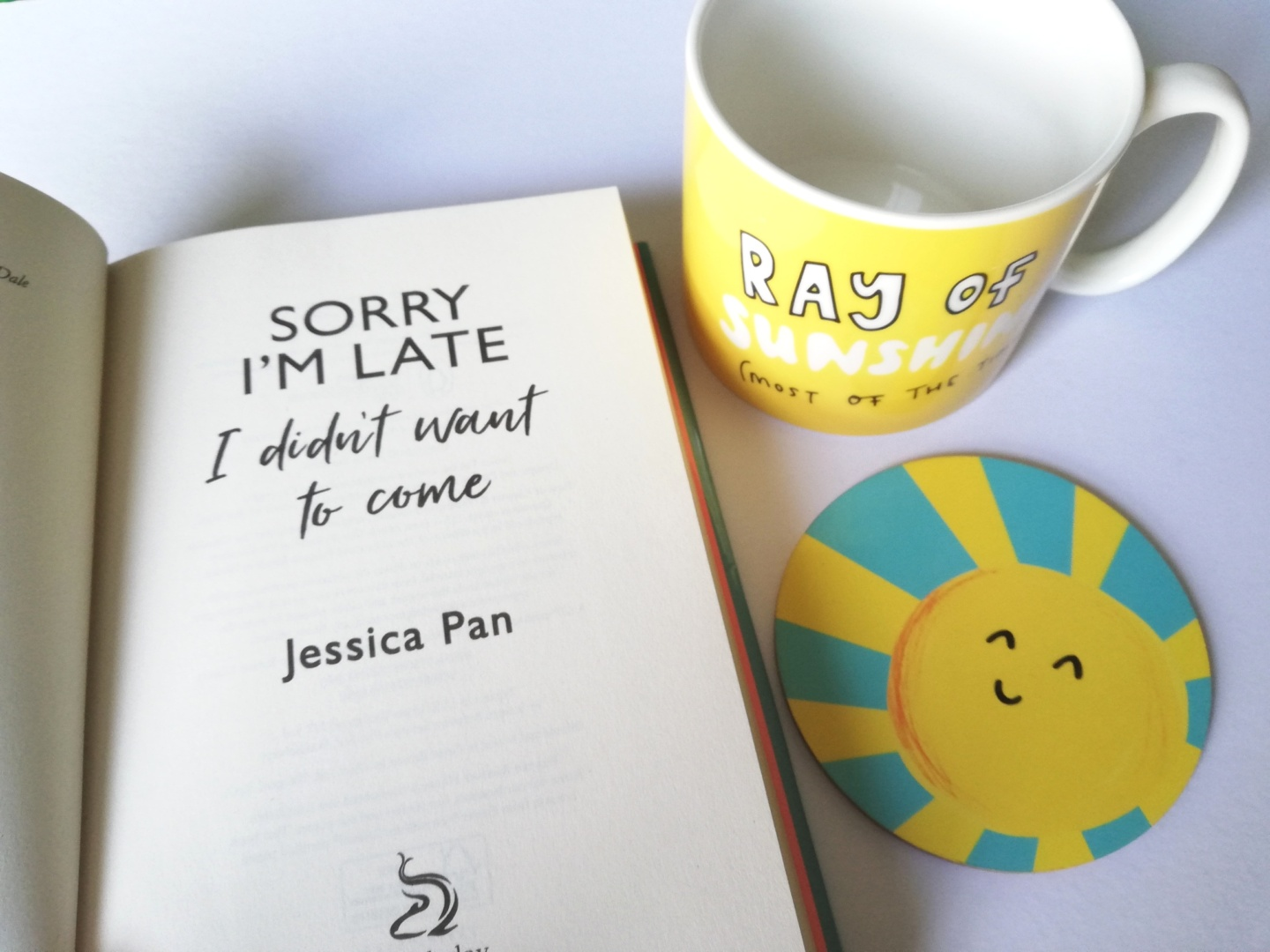Book Review: Sorry I'm Late, I Didn't Want to Come