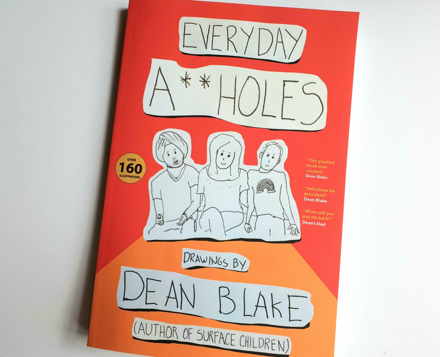 Review & Giveaway: Everyday A**holes by Dean Blake