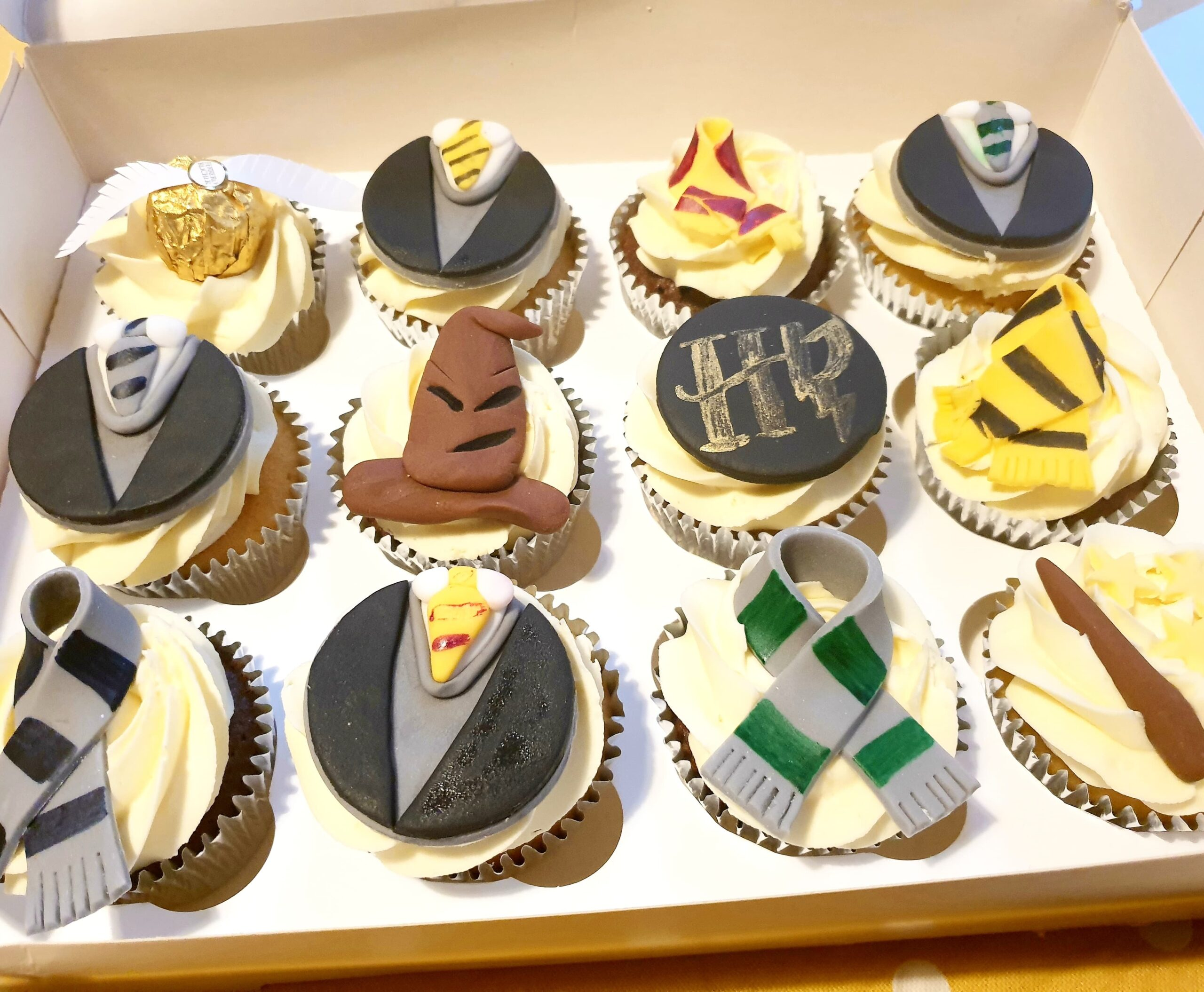 Harry Potter Cupcakes from Ben's Bakes