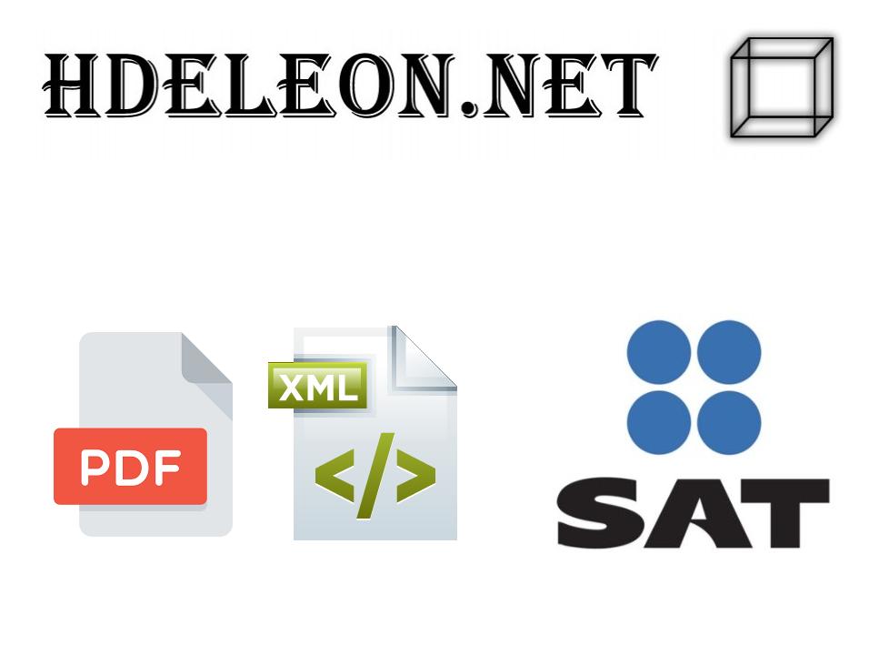 Curso gratis para crear el archivo PDF a partir de un XML 3.3 ya timbrado. C# .Net #SAT #cfdi