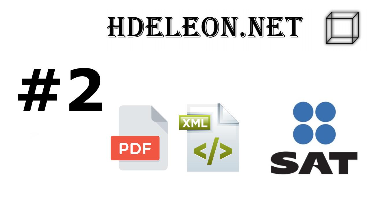 ¿Cómo crear el archivo pdf a partir de un xml timbrado 3.3 C# .Net? |  Convertir Html a PDF con ayuda de Razor | SAT #2