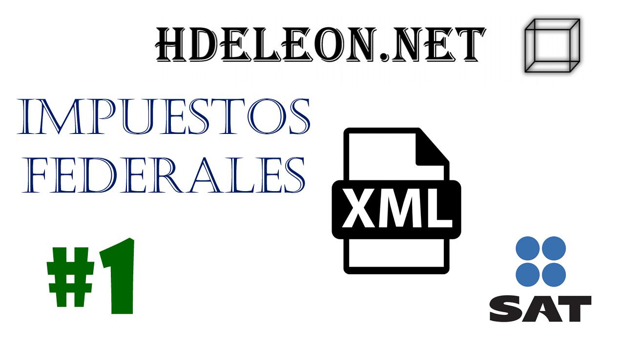 ¿Cómo crear el xml 3.3 con impuestos federales? cfdi C# .Net?   catálogos   SAT #1