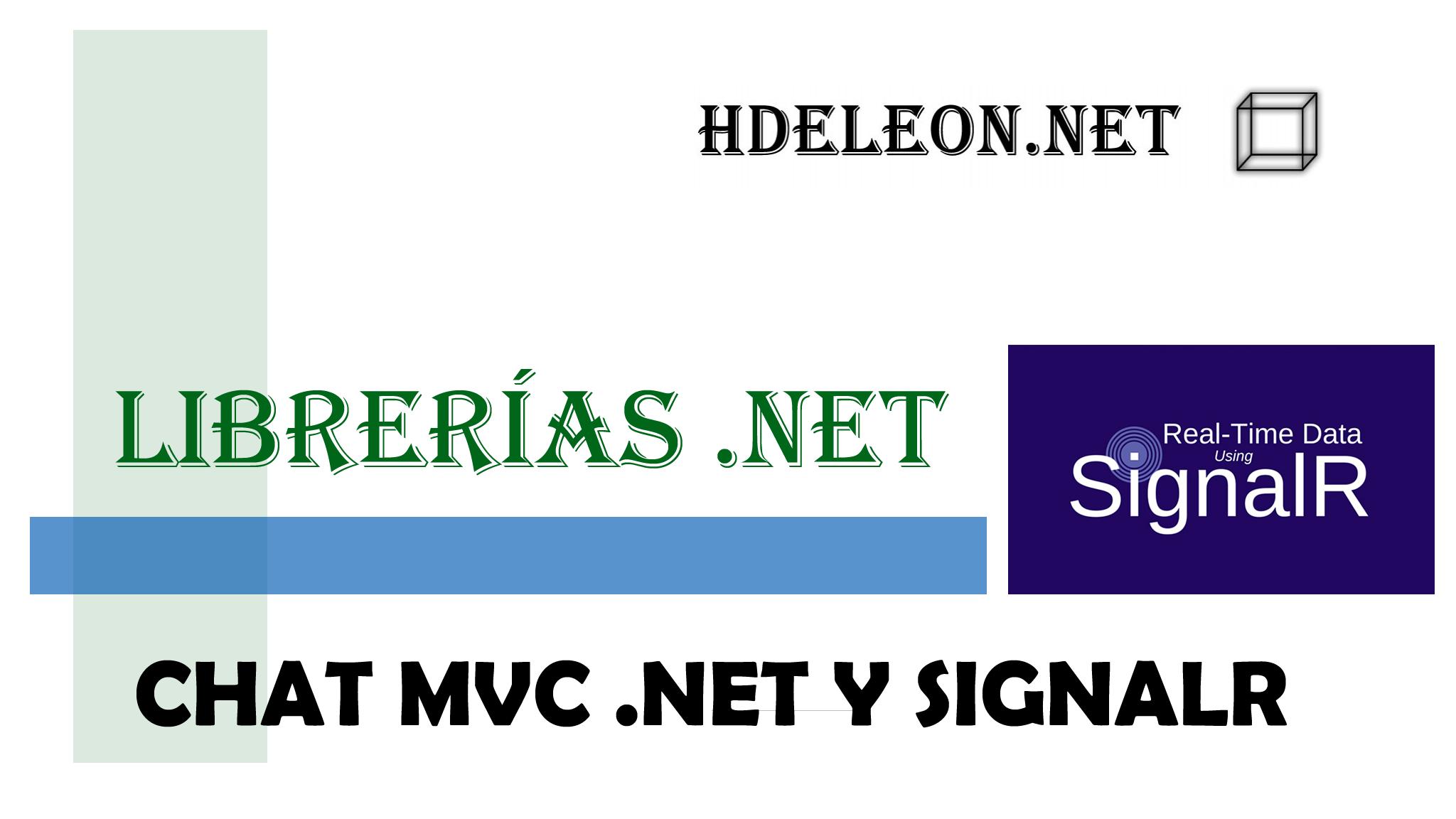Crear un Chat con SignalR, Javascript y C# MVC .Net