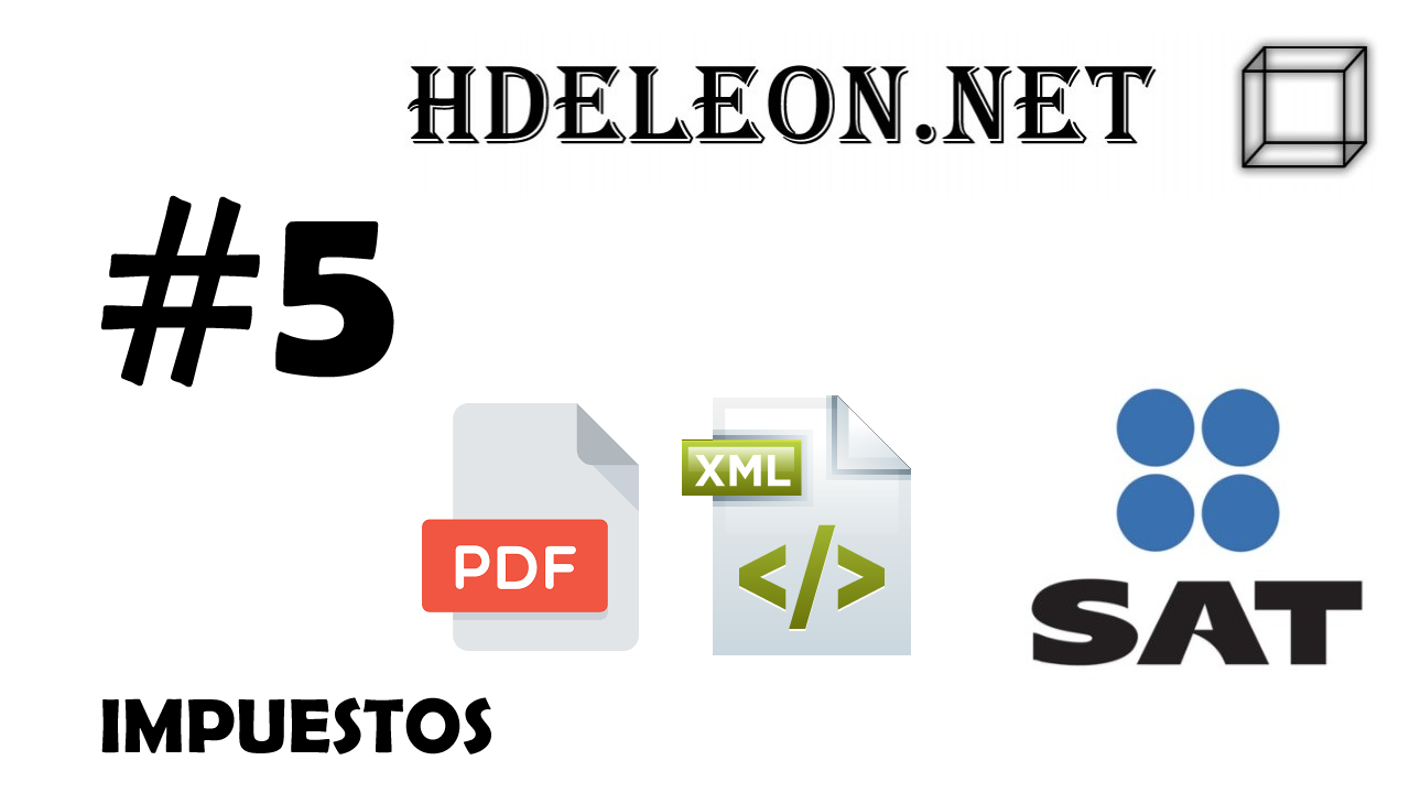 ¿Cómo crear el archivo pdf a partir de un xml timbrado 3.3 C# .Net?, Impuestos, SAT #5